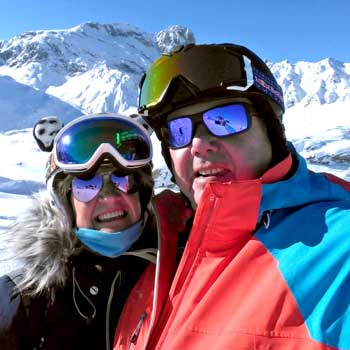 The Freeride Republic Chalet Hosts John And Lyn