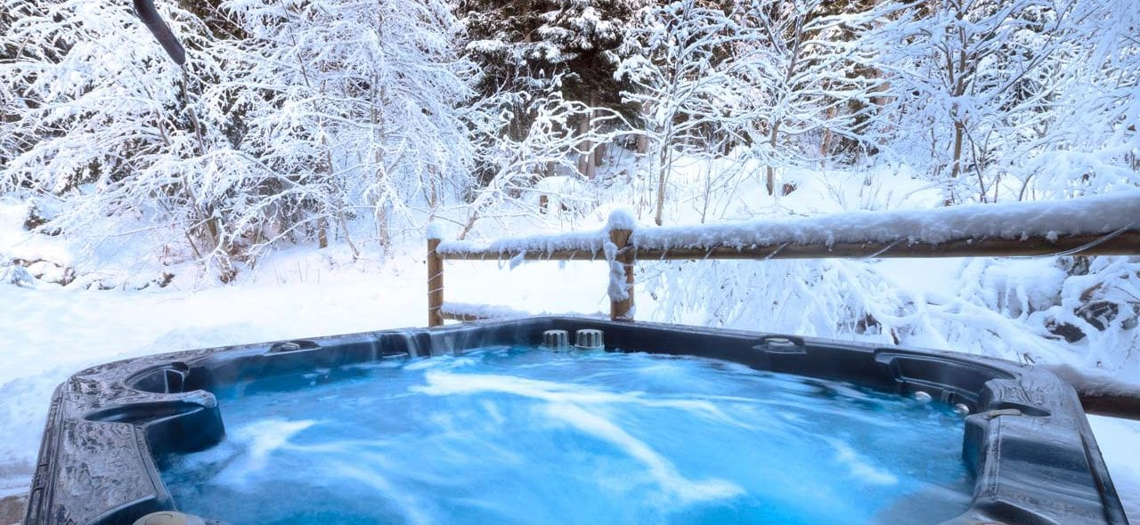 Chalet Baikal Hot Tub From The Freeride Republic Catered Ski Chalets