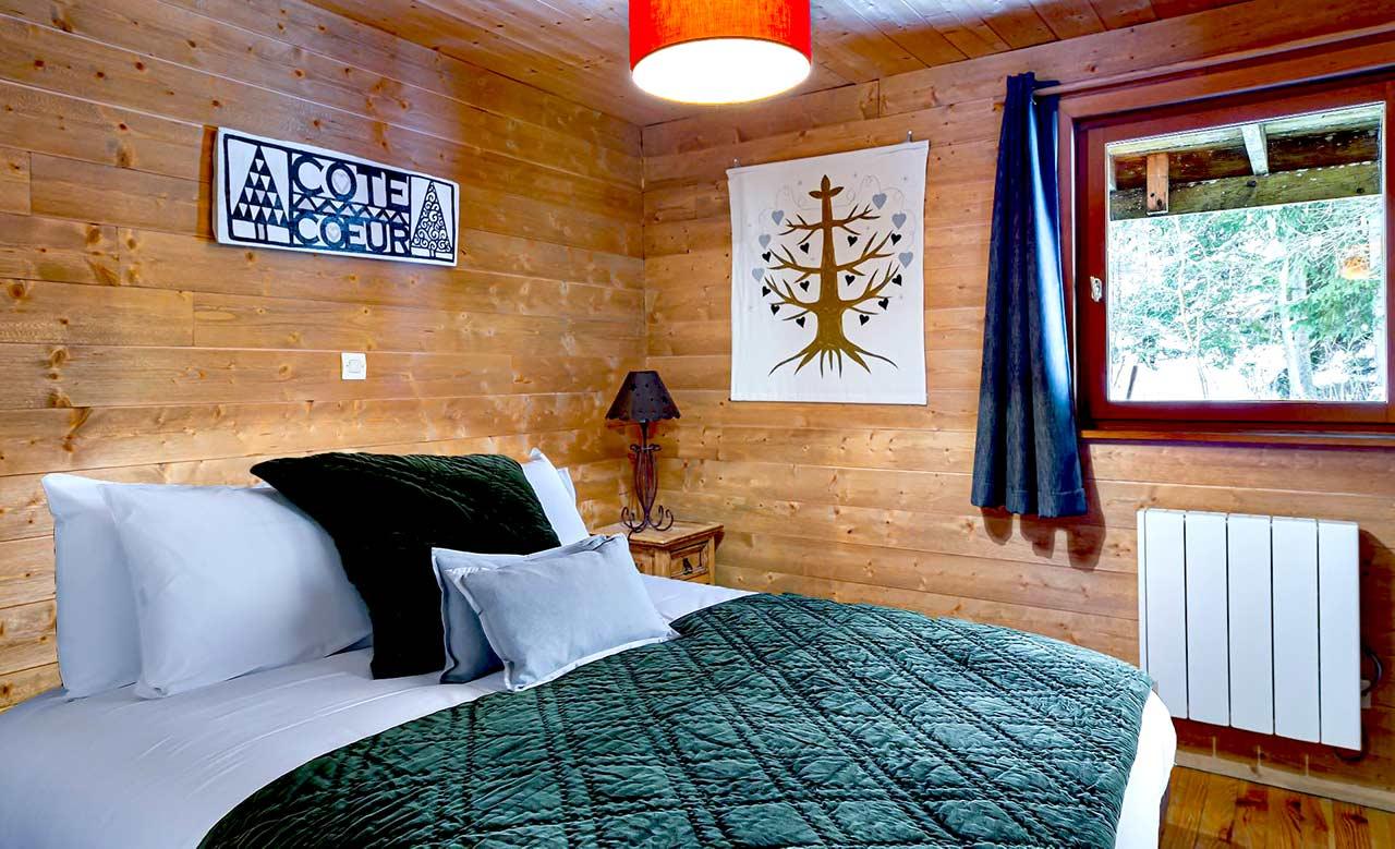 Chalet Cote Coeur bedroom 3