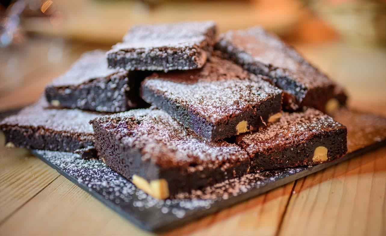 Chalet Cote Coeur Chocolate Brownies