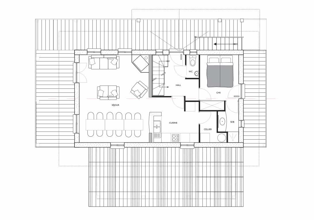Cote Coeur Foorplan-internal-R+1