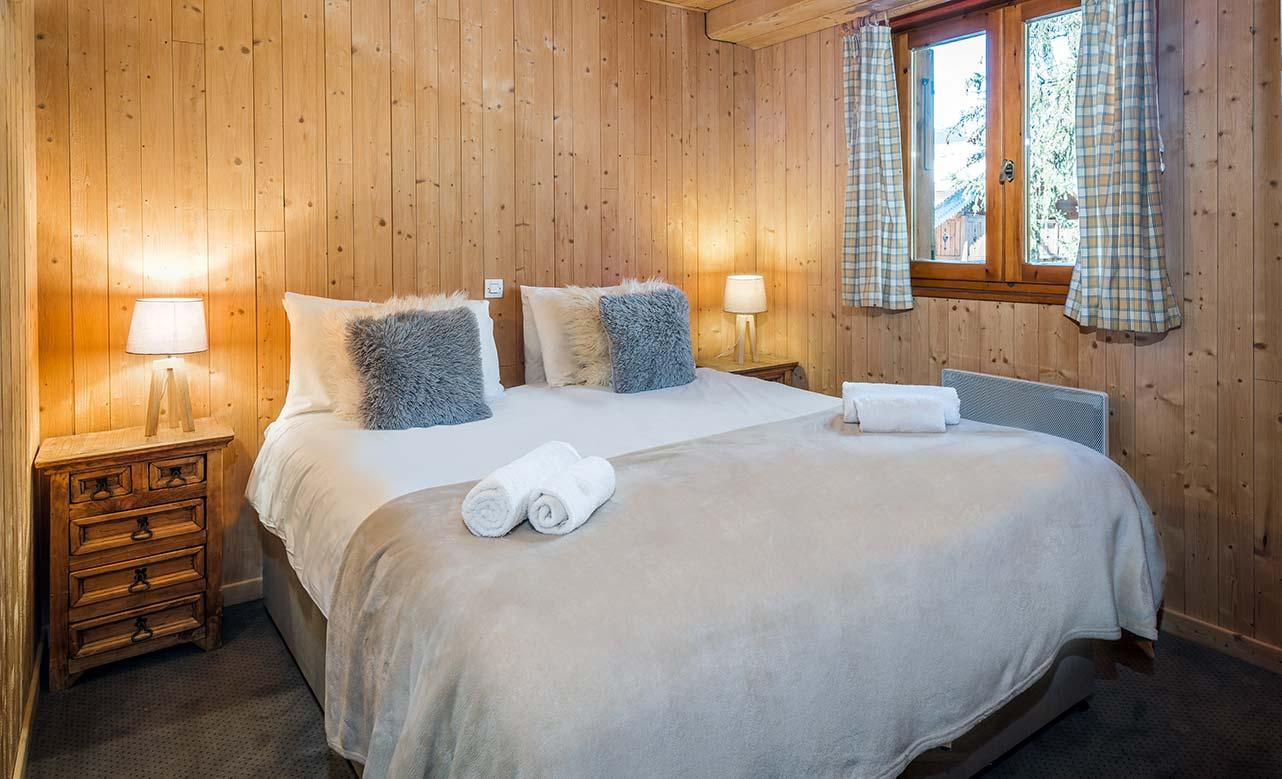 Chalet Titania - Double Bedroom