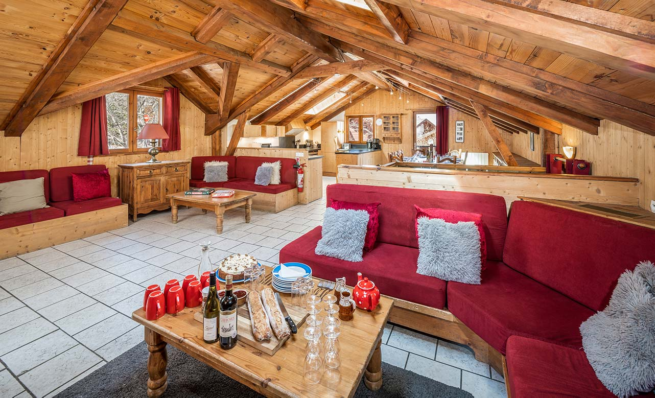 Chalet Titania - Living Room
