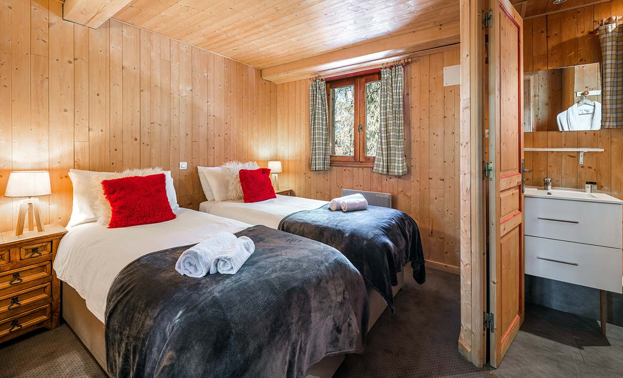 Chalet Titania - Twin Bedroom 1