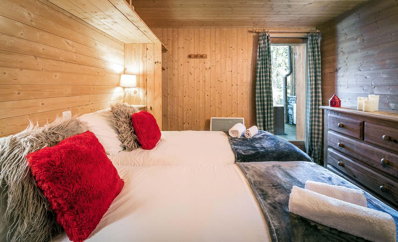 Chalet Titania - Twin Bedroom